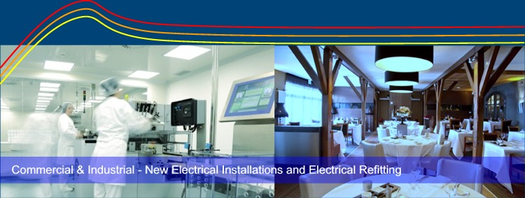 Commercial & Industrial Electrics - New electrical installations, electrical refitting & data cabling - Limerick Electricans