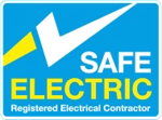 Dermot Byrne Alarms & Electrical are endorsed under Safe Electric meaning that we are both registered and insured  and we will issue you with a certificate to show that the work is of an approved standard